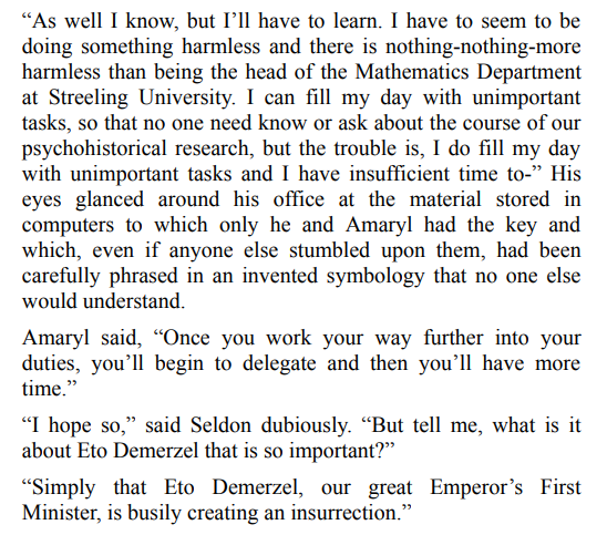 Forward the Foundation by Issac Asimov