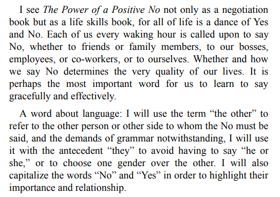 The Power of a Positive No by William Ury PDF