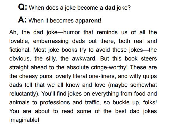 Dad Jokes by Jimmy Niro
